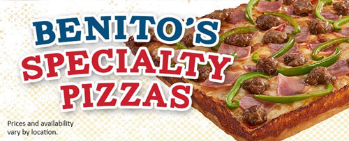 Feature SPECIALTY pizza